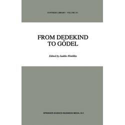 From Dedekind to Gödel als Buch von
