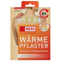 WEPA WÄRMEPFLASTER bei Nacken- und Rückenschmerzen