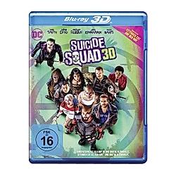 Suicide Squad - 3D-Version - DVD  Filme