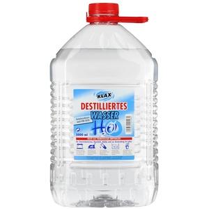 720 Liter Destilliertes Wasser (144 Kanister mit je 5 Litern) 1 Palette