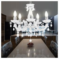 etc-shop Kronleuchter, LED Kronleuchter Hänge Lampen Decken Pendel Leuchten verschiedene Farben