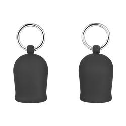 Zarte Brustpumpe aus Silikon, Größe M, 4,5 cm