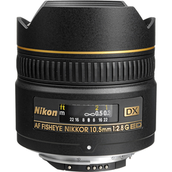 Nikon AF-D 10,5 mm f/2,8G ED DX Fisheye