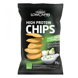 LOWCARB.ONE High Protein Chips Sour Cream & Onion