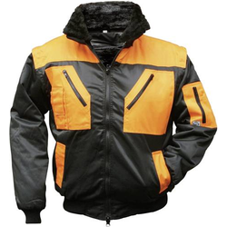 Griffy 4208 Pilotjacke Tokapi Sw/Or Xl