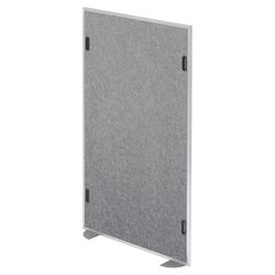 ASW | Akustik-Stellwand | Mittelstück -   Grau