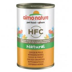 Almo Nature HFC Hühnerschenkel 140 Gramm Katzenfutter 12 x 140 gramm