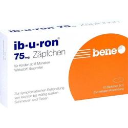 ib-u-ron 75mg Zäpfchen