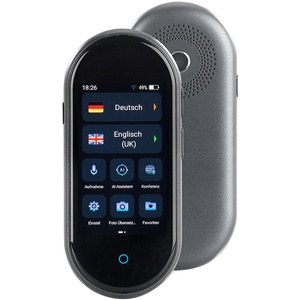 Mobiler Echtzeit-Sprachübersetzer, 106 Sprachen, Touchscreen, Kamera