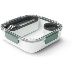 black + blum Lunch Box Original Lunchbox, Kunststoff, olivgrün, 1000 ml/ 34f l oz