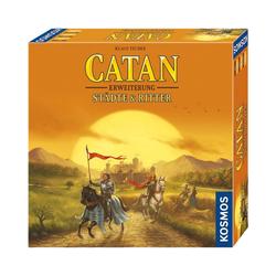 Kosmos Spiel, Catan - Erweiterung Städte & Ritter 3-4 Spieler