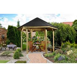 weka Pavillon Paradies 1, BxT: 326x376 cm
