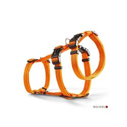 Wolters Hunde-Geschirr Ausbruchssicheres Soft & Safe No Escape, Nylon orange XS - 30 cm - 40 cm