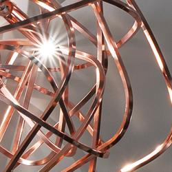 Terzani Doodle Design-Esstischlampe 135cm