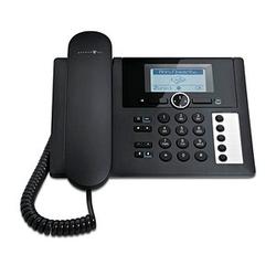 Telekom PA 415 Telefon mit Anrufbeantworter schwarz