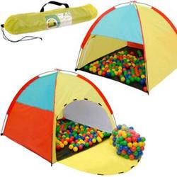 Spielset Kinderspielzelt Fabius inkl. 200 Bällebadbällen   Spielzelt Spielhaus für Jungen und Mädchen   Kinder-Bällebad-Zelt mit Spielbällen   inkl. Tragetasche