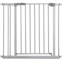 HAUCK Türschutzgitter Stop N Safe 2 84-89 cm silver inkl. Verlängerung 9 cm