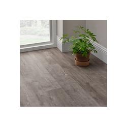 neu.holz Einlegeboden (7 Stück), Mons Vinyl Laminat Bodenbelag Selbstklebend ca. 1 m² grau