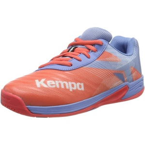 Kempa Unisex-Kinder Wing 2.0 JUNIOR Handballschuhe, Grau (Corail/Gris Lilas 02), 29 EU