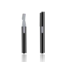 Friseurmeister Augenbrauentrimmer Elektrischer Augenbrauen-Trimmer - in Schwarz, Augenbrauenformer zum präzisen Stutzen und zur schmerzfreien Entfernung von Gesichtshaaren