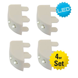 LED Schrankbeleuchtung 4er Set mit Sensor