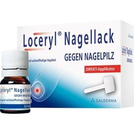 Galderma Laboratorium Loceryl Nagellack gegen Nagelpilz DIREKT-Applikat. 2.5 ml