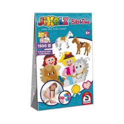 Schmidt Spiele Puzzle Jixelz Puzzle Bibi & Tina 1500 Teile, Puzzleteile