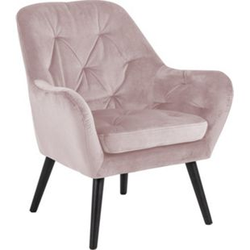 Ask Sessel rosa Relax Esszimmer Stuhl Wohnzimmer Clubsessel Cocktailsessel