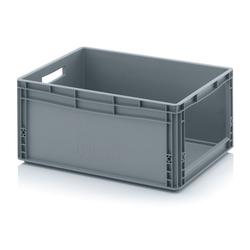 Kunststoffkisten mit öffnung, 600 x 400 x 270 mm