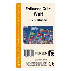 Erdkunde-Quiz: Welt (Kartenspiel)