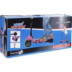 Scooter 3-Wheel, klappbar, 110 mm rosa