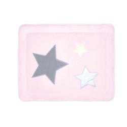 Laufstalleinlage Krabbeldecke Pady softy + terry Laufgitter rosa