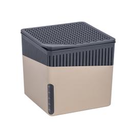 WENKO Luftentfeuchter Cube, 500 g, Raumentfeuchter zum Schutz vor Schimmel und unangenehmen Gerüchen, Farbe: beige