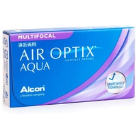 Alcon Air Optix Aqua Multifocal 3 St. / 8.60 BC / 14.20 DIA / -1.00 DPT / Low ADD