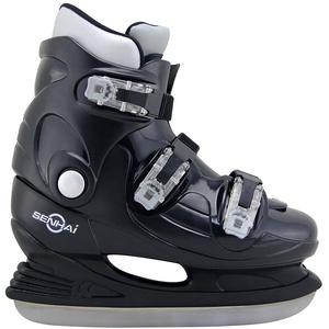 Kounga Herren Senahi Ice Hockey Skates Eishockeyschlittschuhe, Schwarz, 44