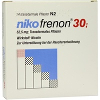 Riemser Pharma Nikofrenon 30 transdermale Pflaster 14 St.