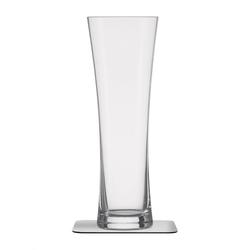 Silwy Bier-Kristallglas mit Magnet 330 ml 2er-Set mit Untersetzer
