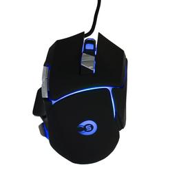 Hyrican Gaming Striker Gaming-Maus GM551 USB mit RGB Beleuchtung Mäuse/Joystick