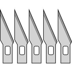 Donau Elektronik MS05 5 Ersatzmesser für Designermesser
