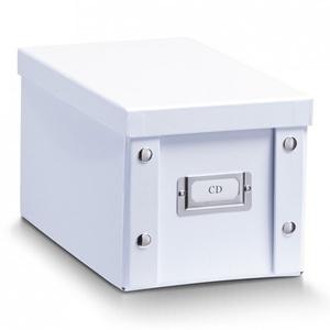 Box SPACE weiß Pappe weiß Zeller 17760 (BHT 17x15x28 cm) Zeller