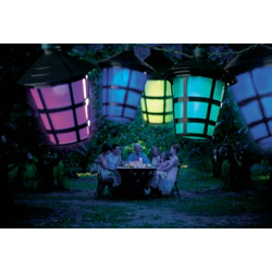 Konstsmide 4162-500 LED Party-Lichterkette Anzahl Leuchtmittel: 20