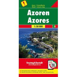 Azoren Autokarte 1 : 50.000