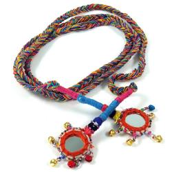 Guru-Shop Hüftgürtel Gürtelband Pushkar - bunt bunt