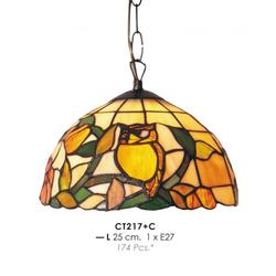 Tiffany Deckenleuchte Durchmesser 25cm CT217 + C Leuchte Lampe