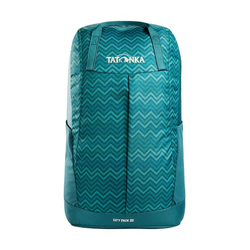 Tatonka City Pack 20 Rucksack 49 cm teal green zig zag