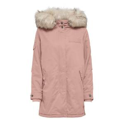 ONLY Leinen Parka Damen Pink Female XL