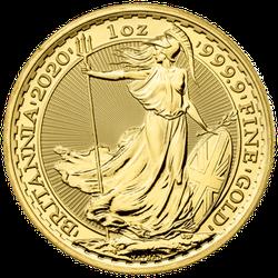 1 Unze Gold Britannia 2020