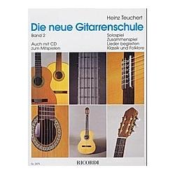 Die neue Gitarrenschule. Heinz Teuchert  - Buch