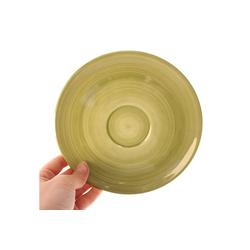 Zeller Keramik Untertasse Cup-Untertasse Ono Zoom Cup-Untertasse Ono Zoom, (1 Stück)