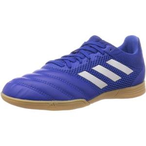 adidas Unisex Copa 20.3 in Sala J Sneaker, Schwarz Black Black White, Large EU